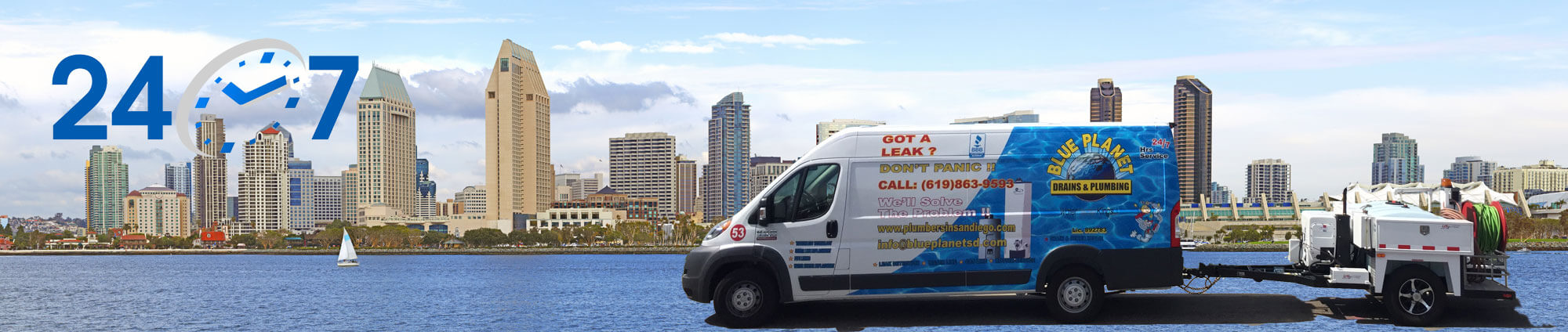 Hydrojetting Services San Diego, California