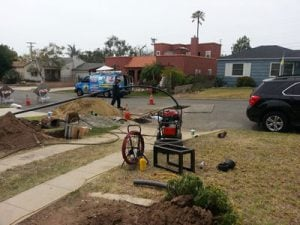 trenchless-sewer-replacement-work