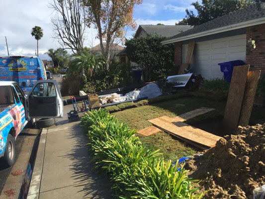 Sewer Line Replacement El Cajon California Blue Planet