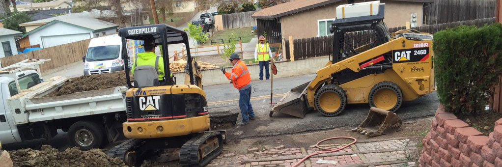 Trenchless Sewer Replacement Spring Valley, California